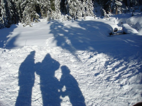 snowshoe shadows