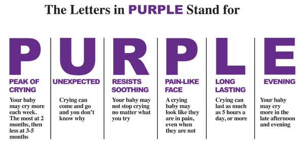 period of purple crying