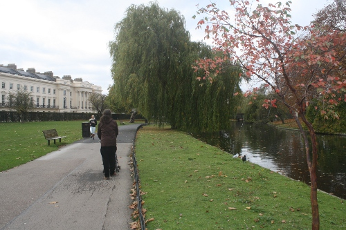 tom walking in regent's park