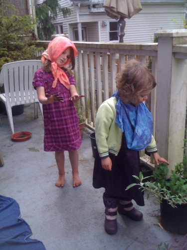 acting out little house on the prairie