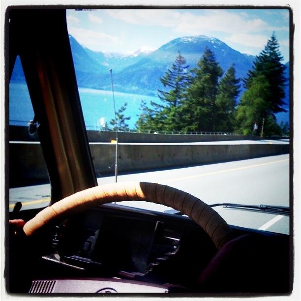 driving the westfalia catbus