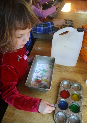 learning at a homeschool science club